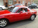DEM in his 1990 Miata