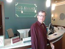 Dr. Marcinko at Emory University