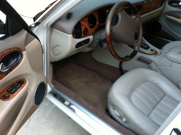 Jaguar front seat