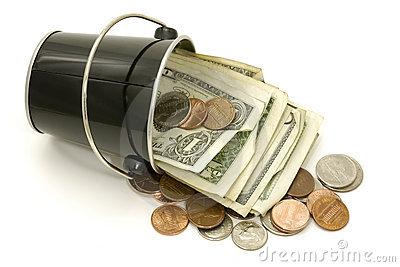 buckets cash